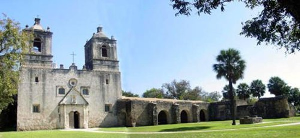 Mission Concepcion - SAN ANTONIO MISSIONS NATIONAL HISTORICAL PARK