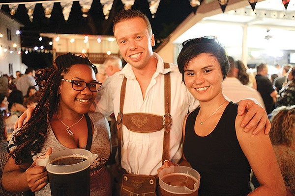 Good vibes and German brews flow at The Beethoven Halle und Garden. - FILE PHOTO