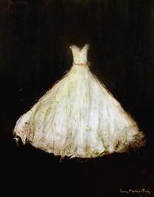 PAINTING CRED:  FRANCO MONDINI RUIZ - goya gown