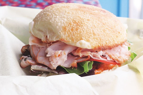 Habanero turkey sandwich from The Station Café, formerly known as The Filling Station. - VERONICA LUNA