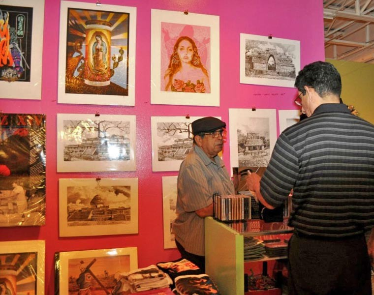 Hecho a Mano Holiday Fesitval at the Guadalupe Cultural Arts Center - COURTESY