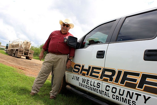 Hector Zertuche of Jim Wells County Sheriff's Department