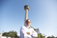PHOTOS BY MICHAEL BARAJAS - HemisFair Park Area Redevelopment Corporation CEO Andres Andujar