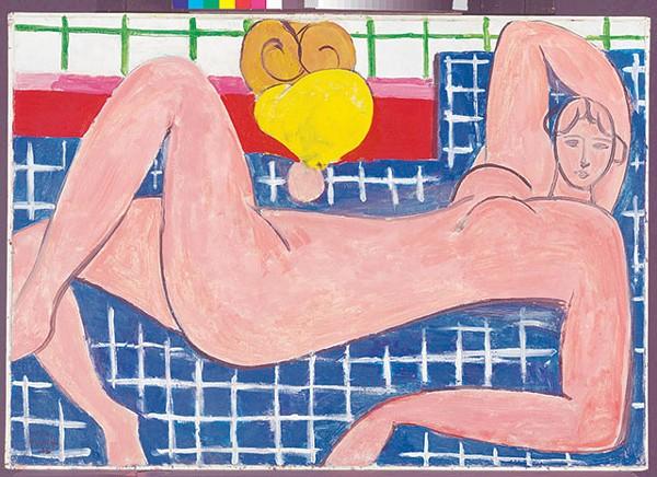 Henri Matisse, 'Large Reclining Nude' - MITRO HOOD