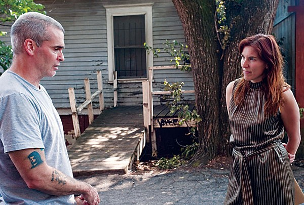 Henry Rollins, one of the WM3 many celebrity supporters, with director Amy Berg. - COURTESY PHOTO