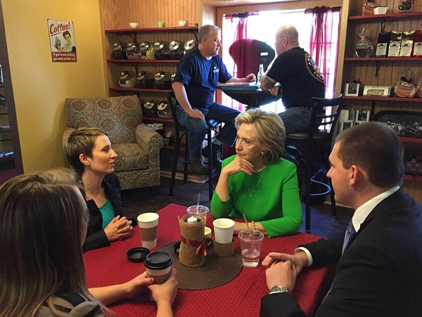 Hillary Clinton is taking another swing at the Oval Office. - HILLARY CLINTON