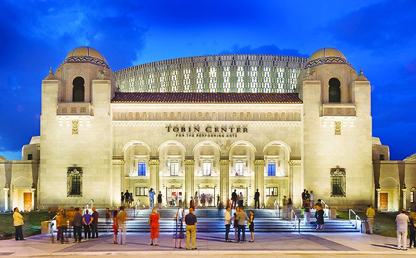 Home to 10 resident companies, the Tobin Center offers a wealth of performance options. - COURTESY