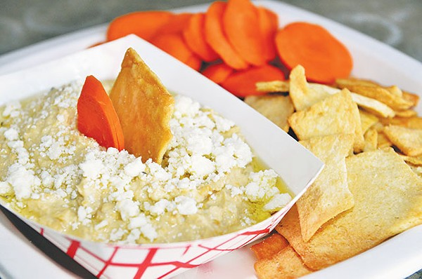 Hummus with a hint of IPA because ... why not? - COURTESY PHOTO