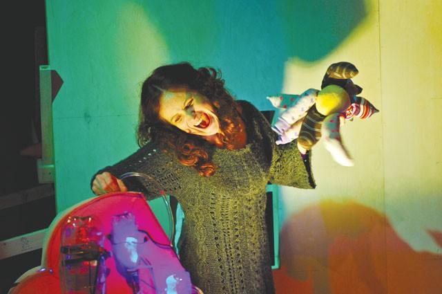 Hush little ... baby? Susanna Morrow in Smudge. - COURTESY PHOTO