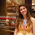 Hyland O'Brien, student at SAY Sí, takes national art award at Carnegie Hall