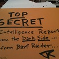Intelligence report from the Dark Side (the 'Barf Raider' prophesies)