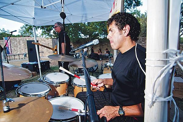 "It's always ""Héctor, Héctor, Héctor."" So here's Krayolas drummer David Saldaña - STEVEN GILMORE"