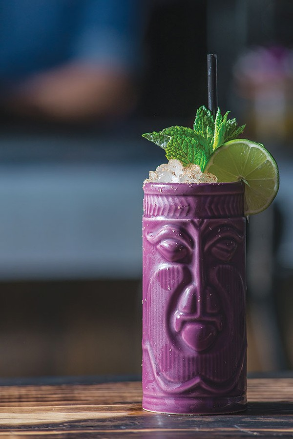 It's tiki time - DAVID RANGEL