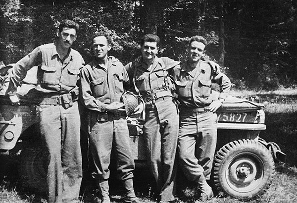J. D. Salinger around the time of the 1944 Normandy invasion. He was part of the second wave that landed on Utah Beach. - COURTESY PHOTO