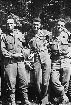 J. D. Salinger around the time of the 1944 Normandy invasion. He was part of the second wave that landed on Utah Beach.