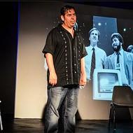 Jade Esteban Estrada in 'The Ecstasy and the Agony of Steve Jobs'
