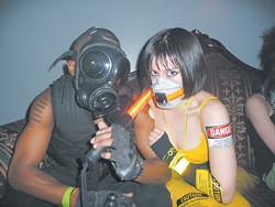 Jared Elliott and Jovanna Flor at Atomix