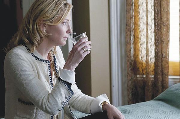 Jasmine (Cate Blanchett) waiting for her Xanax to kick in - COURTESY PHOTO