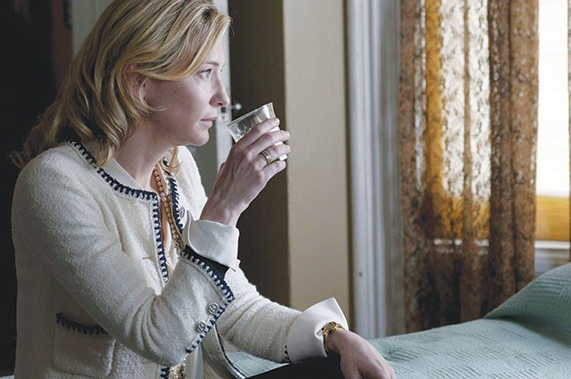 Jasmine (Cate Blanchett) waiting for her Xanax to kick in - COURTESY PHOTO