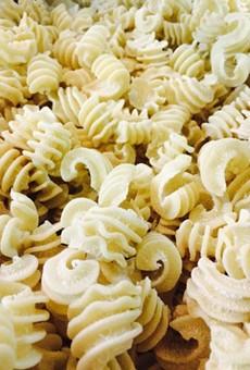Fresh pasta, you guys!