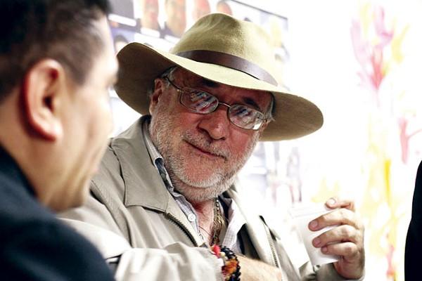 Javier Sicilia, front man of Caravan for Peace. - MICHAEL BARAJAS