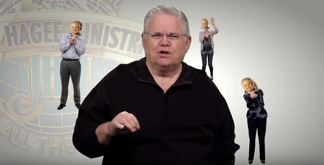John Hagee has a warning for his followers. - HAGEE MINISTRIES/YOUTUBE
