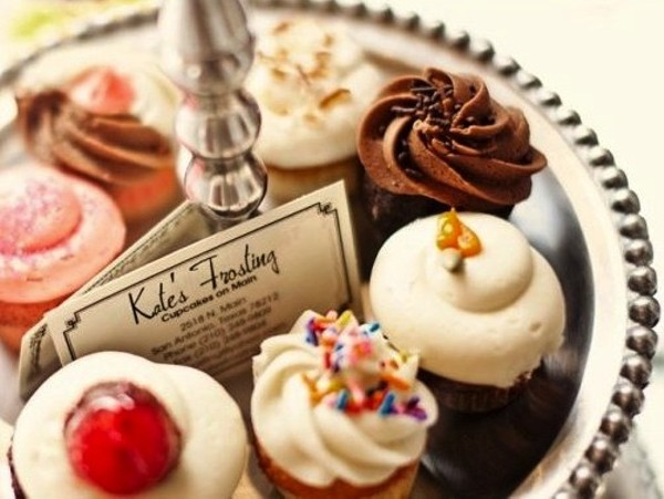 Kate's Frosting cupcakes - COURTESY