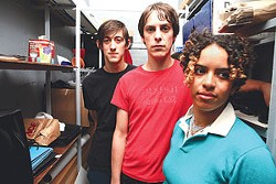 Kathy Foster (front) and the Thermals play the ex-Warhol (now the Ten Eleven) Saturday.