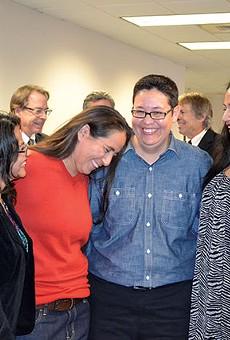 L-R: Elizabeth Ramirez, Anna Vasquez, Kristie Mayhugh and Cassandra Rivera