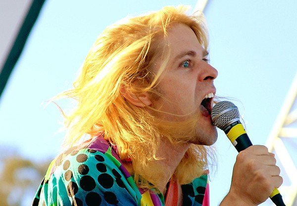 LA pop provocateur Ariel Pink.