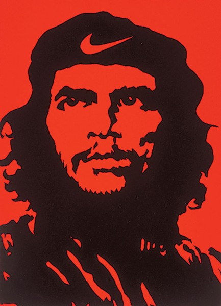 Lalo Alcaraz, Che, 1997. Screenprint. Collection of the McNay Art Museum, Gift of Harriett and Ricardo Romo. - MCNAY ART MUSEUM