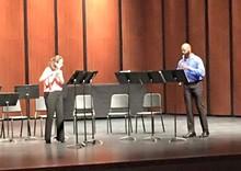 PATRICIA SURMAN - Laura Salfen and Gary Fair in performance