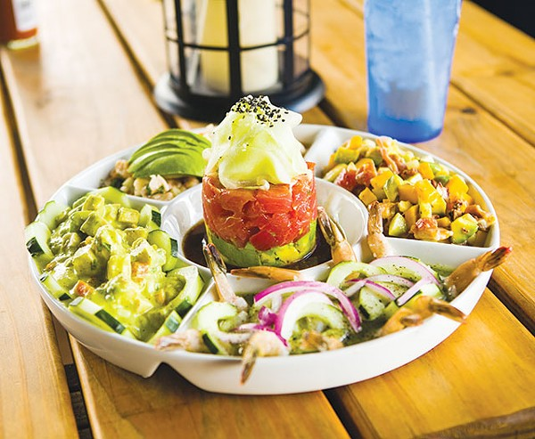 Let the chef decide for you with a ceviche sampler - PAYTONPHOTOGRAPHY.COM
