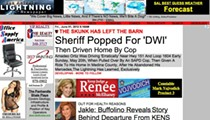 'Lightning' targets Sheriff Amadeo Ortiz for supposed DWI