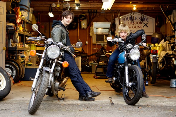 Michael Trent and Cary Ann Hearst of Shovels & Rope - COURTESY