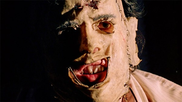 Leatherface from 'The Texas Chainsaw Massacre'