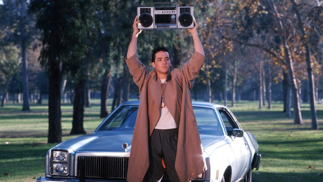 Lloyd Dobler, you're so dreamy. - COURTESY