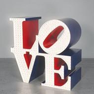 McNay's 'Beyond Love' A Superb Illumination of LOVE-master Robert Indiana