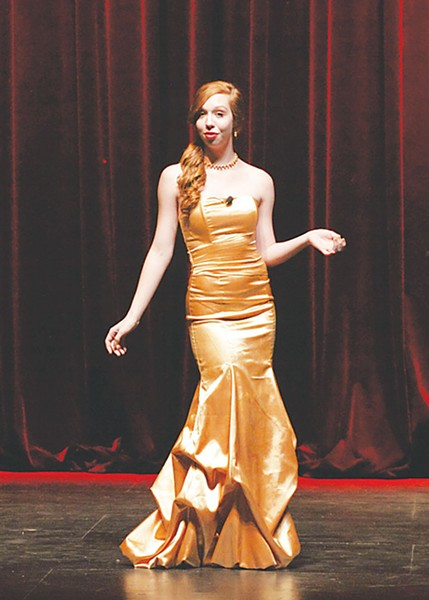 Madison Tinder, first place winner in vocal solo, 2011 - COURTESY PHOTO