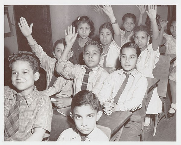 Make like these niños and learn more about La Raza with PBS' epic, six-part documentary Latino Americans - COURTESY PHOTO