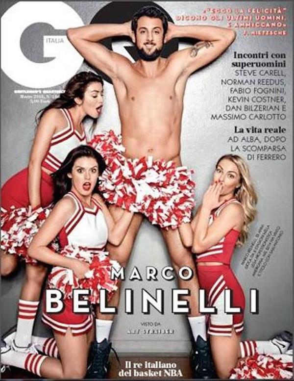 Marco Belinelli keeps his socks on for decency - GQ ITALIA