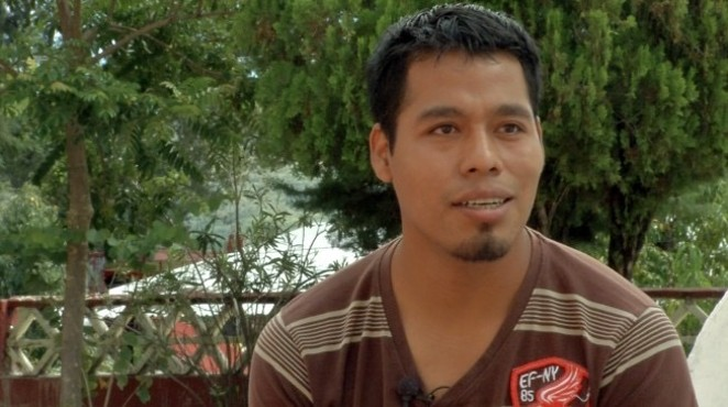 Omar García Velásquez survived a mass kidnapping in Mexico last year. His colleagues, 43 students from Ayotzinapa, were kidnapped on orders from the government. - COURTESY