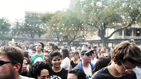 The crowd at the 2014 Maverick Music Festival - JAIME MONZON