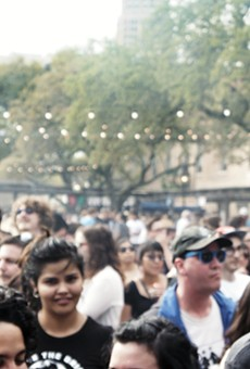 The crowd at the 2014 Maverick Music Festival