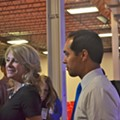 Mayor Castro Formally Endorses Sen. Wendy Davis At Campaign Stop