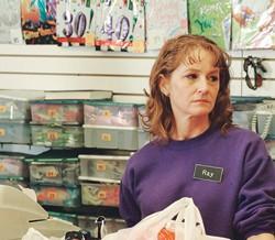 Melissa Leo as minimum-wage slave Ray Eddy in Frozen River.