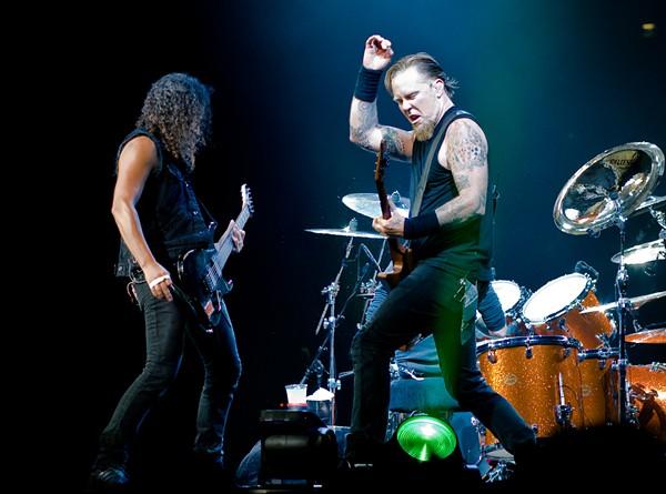 Metallica in London in 2008 - WIKIPEDIA
