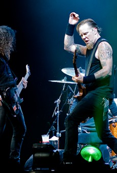 Metallica in London in 2008