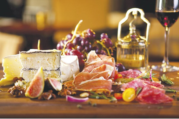 Mix and match charcuterie and cheese, or let Chef Nanez at Bohanan's decide for you - COURTESY PHOTO