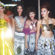 With cutting-edge fashion, art-packed lowriders, and street-corner poets, Una Noche delivers